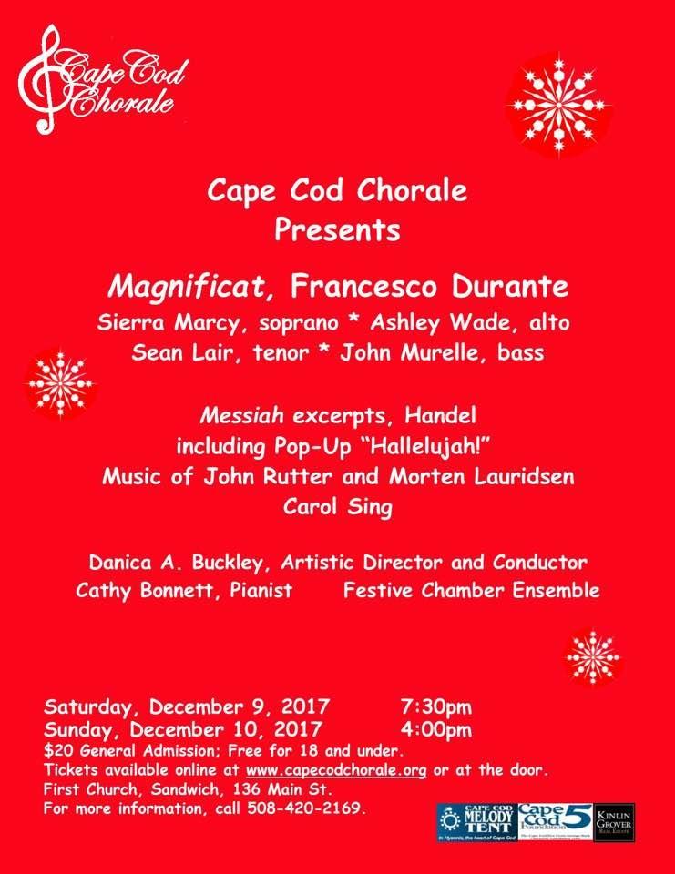 December 2017 concert